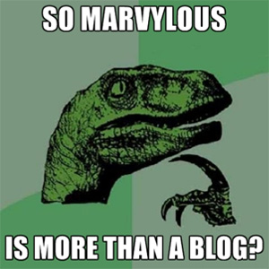 Yes, So Marvylous is a creative web guy too!